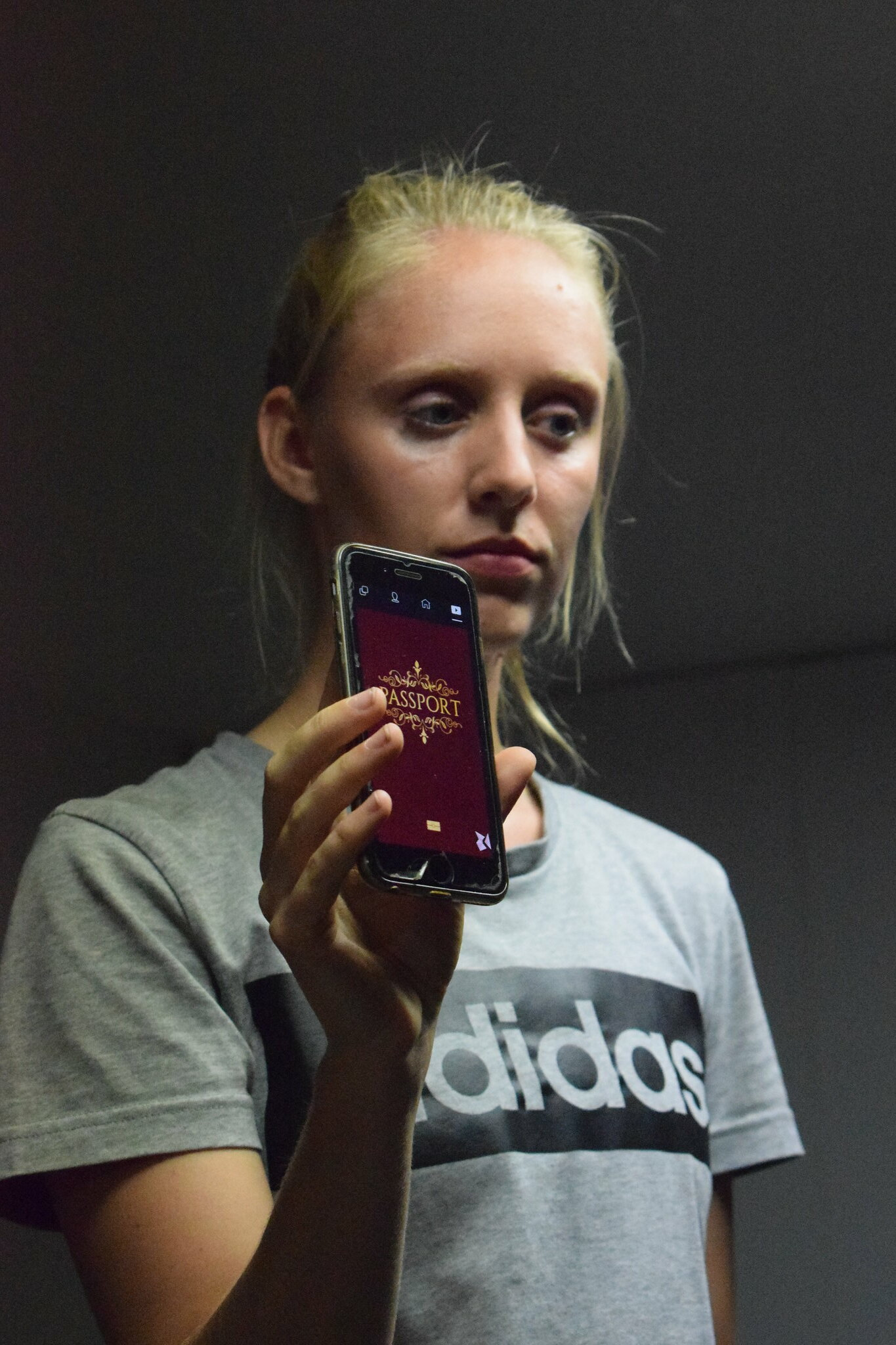 People would be receive fake passports on their mobiles